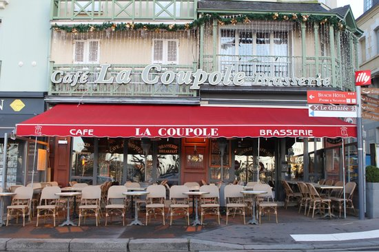 Cafe La Coupole : La terrasse