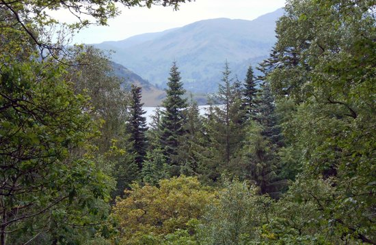 Aira Force: View of Ullswater