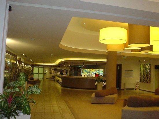 Club Lipari Hotel : le hall