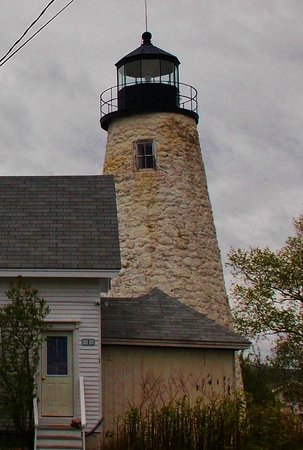 Castine, ME: Closeup of the light
