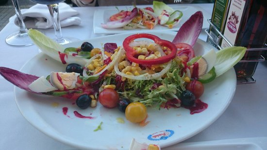 Restaurante portobello: Mix salad