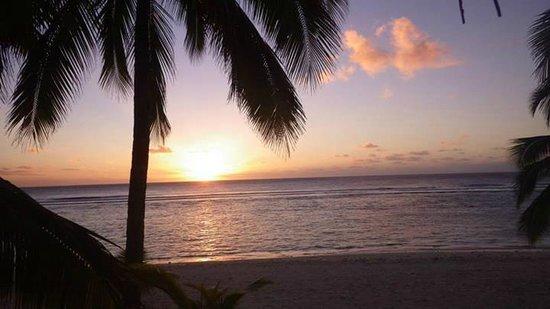 Sunset Resort: Spectacular sunset