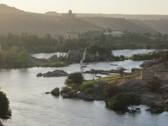 Sofitel Legend Old Cataract Aswan : Вид из окна  моего номера в отеле.