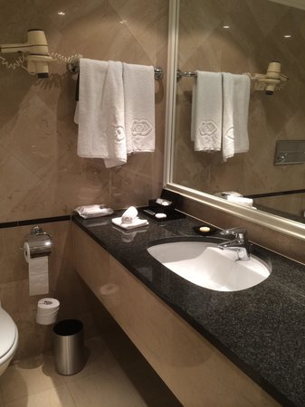 Sofitel Budapest Chain Bridge: The bathroom