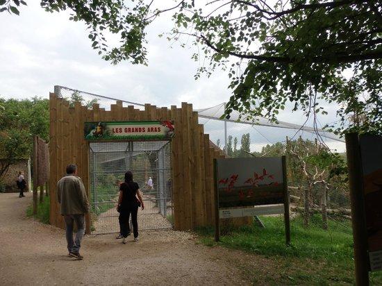 Parc Zoologique Cerza : clos des aras