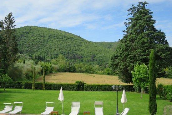 Villa di Piazzano: View of surrounding countryside