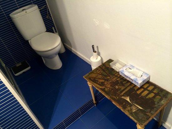 Casa Marcelo Barcelona : The toilet.