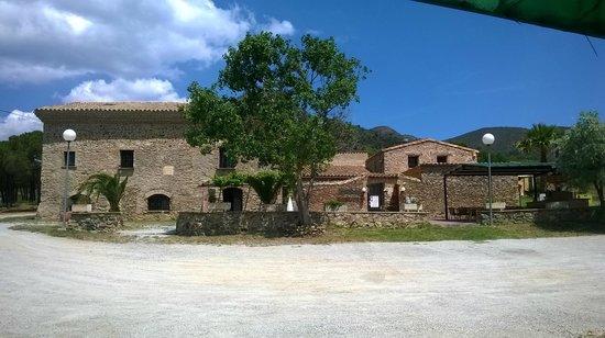 Hotel Restaurant Mas Palou: en medio de la montaña