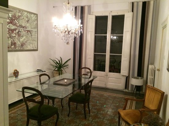 Casa Marcelo Barcelona : The living hall.