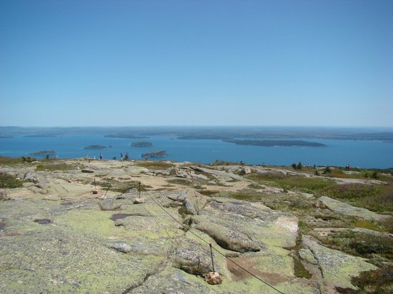 Oli's Trolley - Acadia National Park Tour: view from the top
