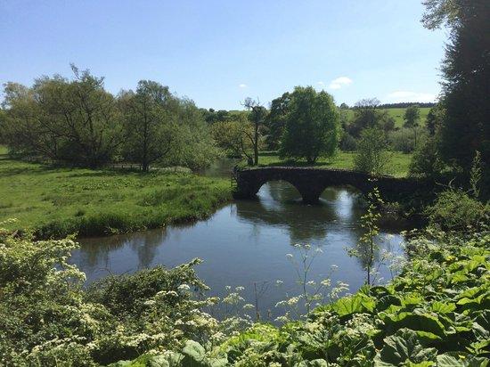 Haddon Hall : The bridge!