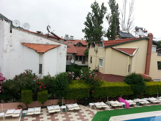 Selen 2 Hotel: view from room 115