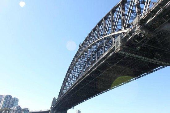 Puente de la bahía de Sídney: Walk beside