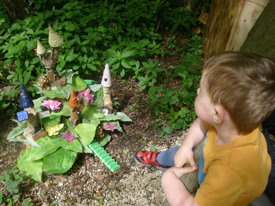 Tropical Butterfly House, Wildlife & Falconry Centre: The fairy garden