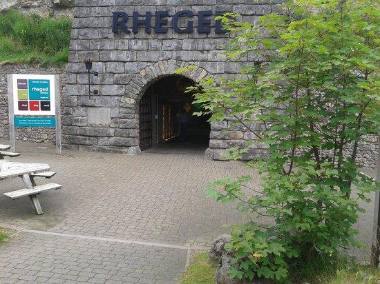 The Rheged Centre: Rheged entrance