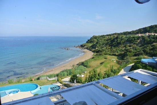 Mare Dei Suites Hotel Ionian Resort: vue sur mer - plage