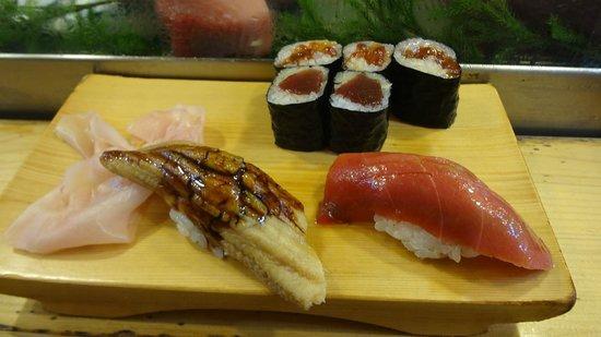 Daiwa Sushi: sushi set