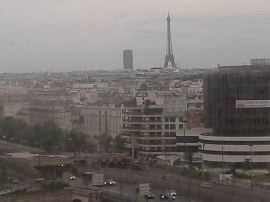 Novotel Paris La Defense: View from my room