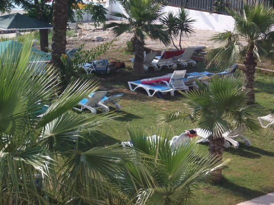 Hotel Peker: bahçe