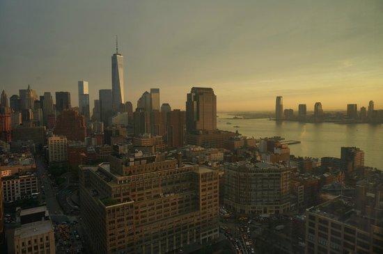 Trump SoHo New York: Trump Soho view from 38th floor