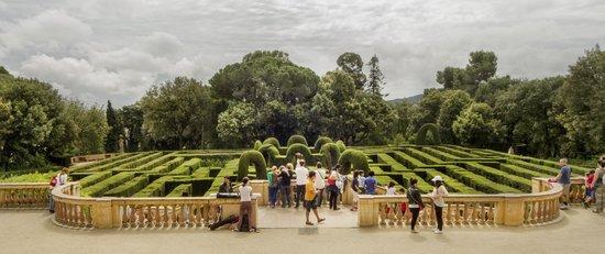 Parque del Laberinto de Horta: Vista del laberinto