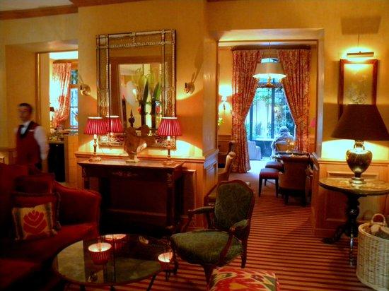 Hotel de l'Abbaye Saint-Germain : warm and inviting