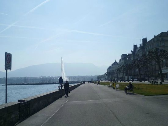 Lac Léman (Lac de Genève) : Ммммм..отличная была погода!