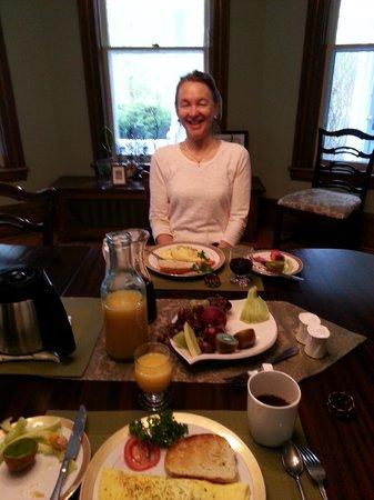 Alicion Bed & Breakfast : Breakfast