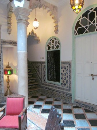 Riad Arous Chamel: the door to our room