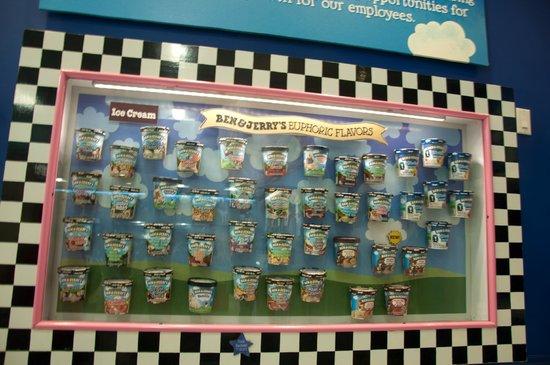 Ben & Jerry's : pint cartons