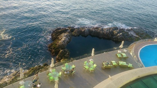 Sheraton Miramar Hotel & Convention Center: así se veía desde la habitación 510
