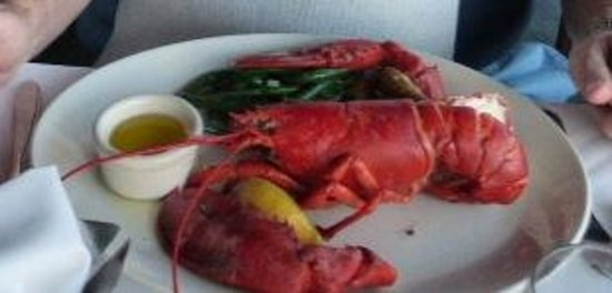 The Lobster: 1.5 pound Steamed Lobster