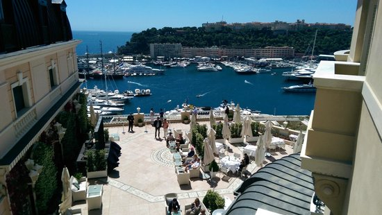 Hotel Hermitage Monte-Carlo : View from our room