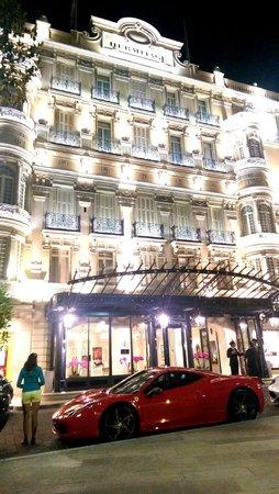 Hotel Hermitage Monte-Carlo : Frontage