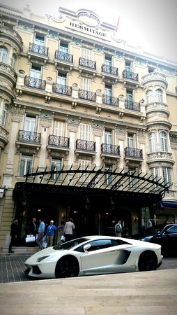 Hotel Hermitage Monte-Carlo : Front view