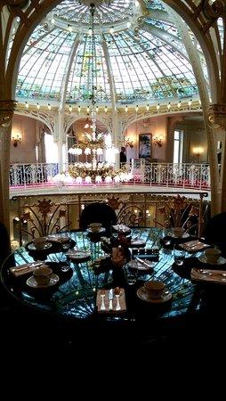 Hotel Hermitage Monte-Carlo : Breakfast room