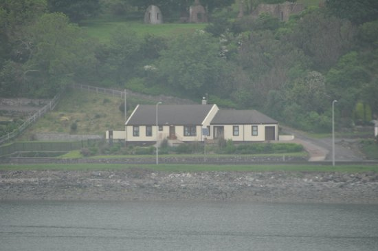 Cairnryan Bed and Breakfast : viewed from the ferry