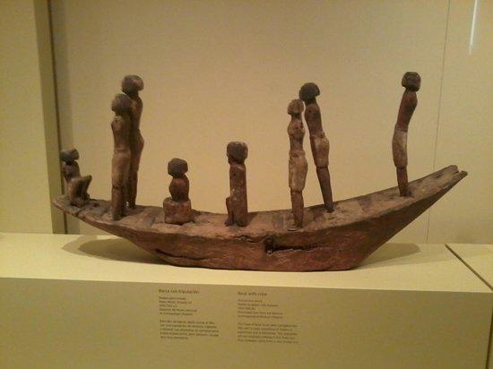 Museo Arqueologico Nacional: Barcaza Egipcia