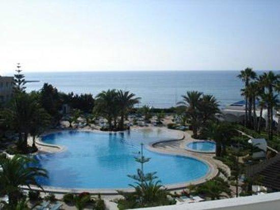SENTIDO Aziza Beach Golf & Spa: vue de ma chambre
