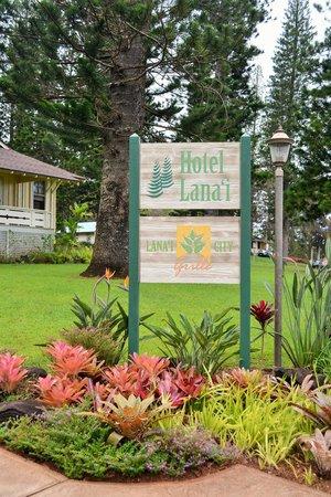 Hotel Lanai: Entrance