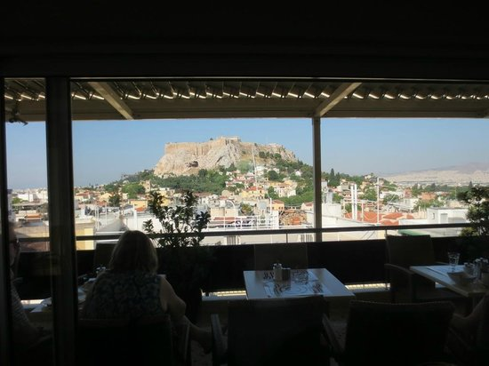 Adonis Hotel: view from bar