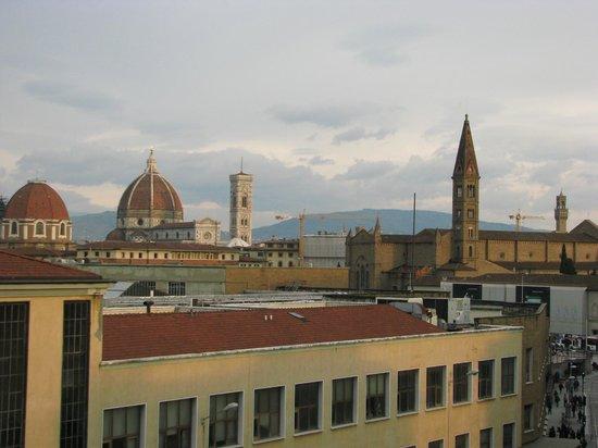 Delle Nazioni Hotel : Morning view from balcony