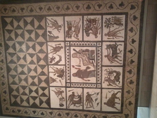 Museo Arqueologico Nacional : Mosaico romano