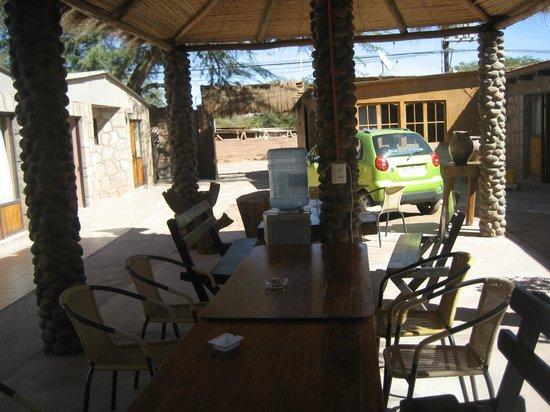 Hostel Katarpe: Área comum