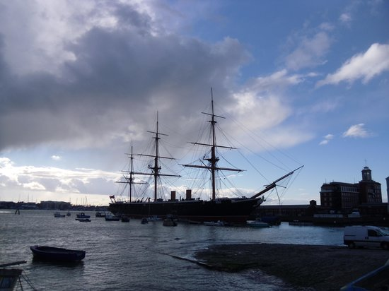 Portsmouth Historic Dockyard: Warrior