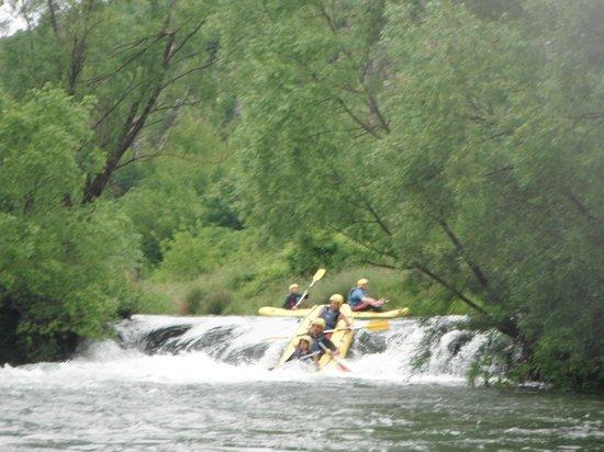Adventure Dalmatia: Over the rapids