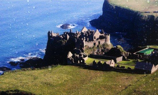Dunluce Castle: Panorama