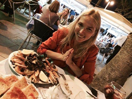 Restaurante Salamanca : Морепродукты