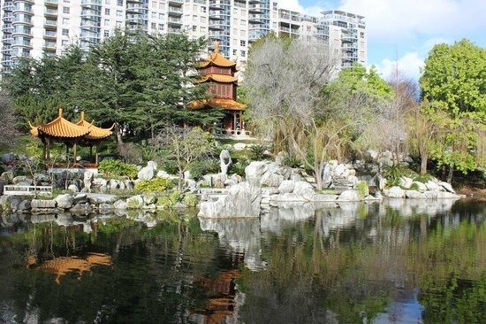 Chinese Garden of Friendship : View of the gardens
