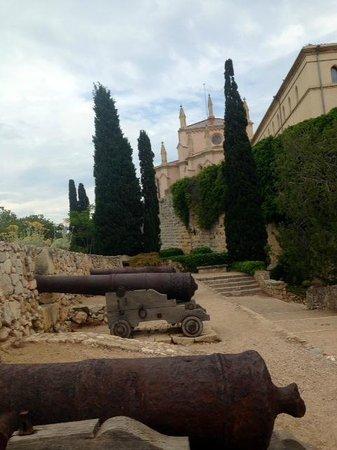 Murallas de Tarragona: Walls walk